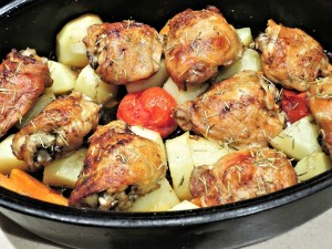 roasted-chicken-thighs-1011681_1920