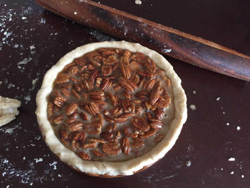 Grandma Bev's Pecan Pie